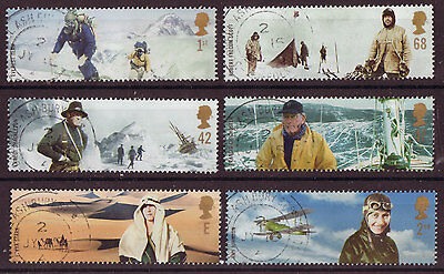 "Great Britain 2003 British Explorers  ""extreme Endeavours""  Fine Used"