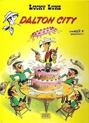 Bd Lucky Luke Dalton city