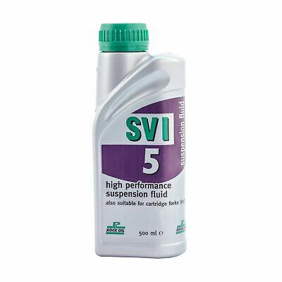 Rock Oil SVI High Performance Fork Oil 500ml - Suitable For Racing / Road Use