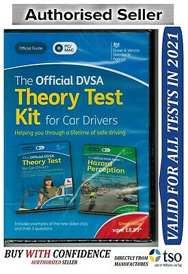 The Official DSA Theory Test Kit  2019 PC MAC DVD + Hazard Perception *KiT