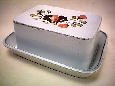 Denby Serenade Covered Butter Dish Excellent Condition