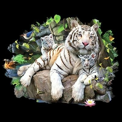 White Tiger Family T Shirt You Choose Style, Size, Color  Up to 4XL 10399
