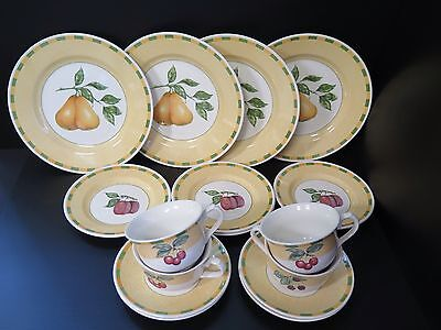 "16 Piece Churchill ""somerset Fruits"" Dinnerset"