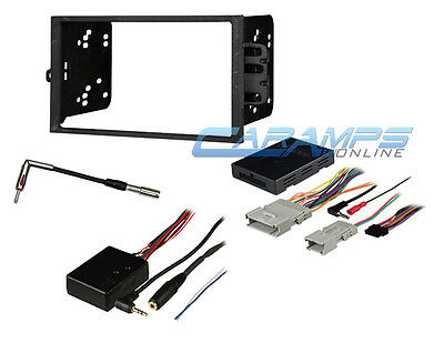 car radio bose onstar interface wiring harness for 2000 up gm double din car stereo radio dash kit w bose onstar interface wiring harness