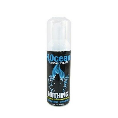H2Ocean NOTHING Pain Relieving Foam Soap Lidocaine 1.7-oz Tattoo Aftercare Ink