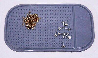 Grey Sticky Bead Mat 5.5 By 3.25 Inch In Size