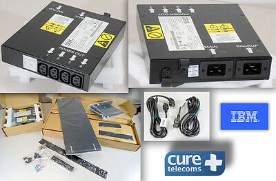 IBM NETBAY DUAL CORD POWER DISTRIBUTION UNIT. P/N: 37L6867.  Power Unit 09N9669