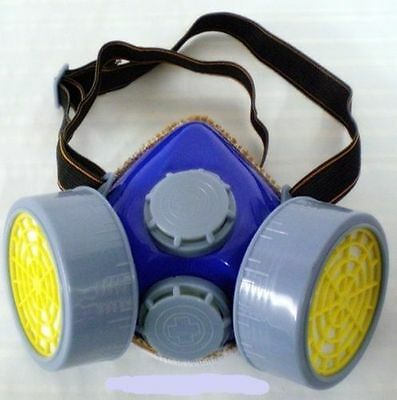 Dust Mask Respirator Protection Painting Sanding Safety Gas Spray Filters Filler