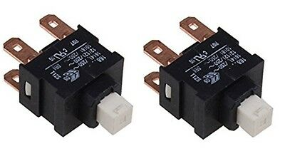 2 x Karcher Puzzi 100 / 200 Cleaner Replacement Switch Genuine 66304370