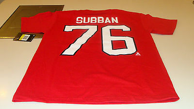 Team Canada 2014 Sochi Winter Olympics Hockey XL Red PK Subban T Shirt