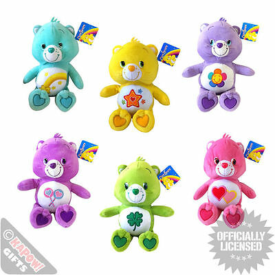 Care Bear Soft Plush Toys - Large 12 Inch Cuddly Bears Cool Plush Teddy Cute