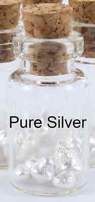 1.3 TROY GRAMS OF SILVER BULLION 999 PURE SILVER Scrap OUNCE Choose Amount