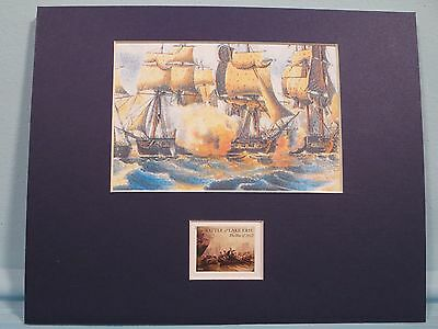 War of 1812 - Oliver Perry's Victory on Lake Erie honored by its own stamp