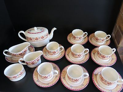 "21 Johnson Bros ""papyrus"" Dinnerset Pieces"