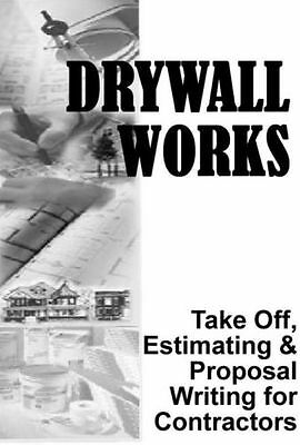 Drywall Take-0ff Estimates Proposal Estimating Contractor Software Excel