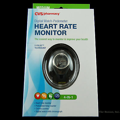 Heart Rate Monitor Fitness Watch Pulse + Calorie Counter With Sport Exercise NEW