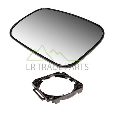 Land Rover Discovery 2 Left Hand Door Wing Mirror Glass & Mount - Crd100650 N/S