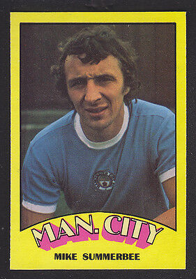 A&BC - Footballers (Red Back) 1974 - # 125 Mike Summerbee - Manchester City