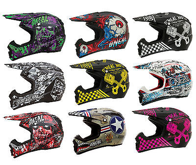 Oneal 5 Series Motor Cross Moto Bike Off Road Adult Helmet 2015-2016