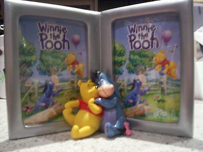 Winnie The Pooh & Eeyore Open Book Style Double Baby Childrens Photo Frame Boxed