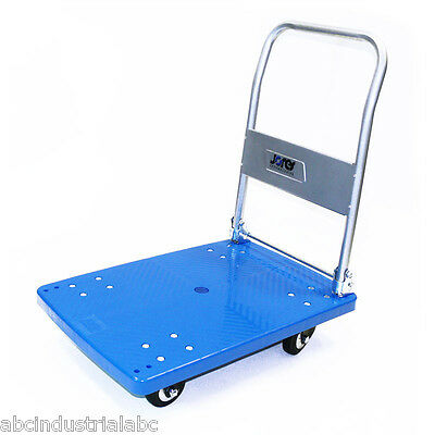 Platform Utility Cart 330lbs Folding Foldable Dolly Hand Truck Rubber Caster