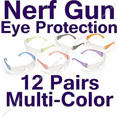Nerf Eye Protection 12 Pack - Nerf Protective Glasses - INT-MULTI