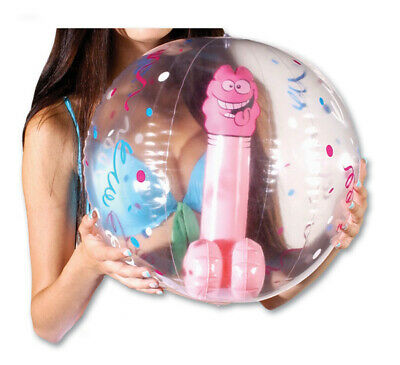 Pecker Willy Penis Dicky Beach Ball Adult Fun Gift Bachelorette Hens Night Party