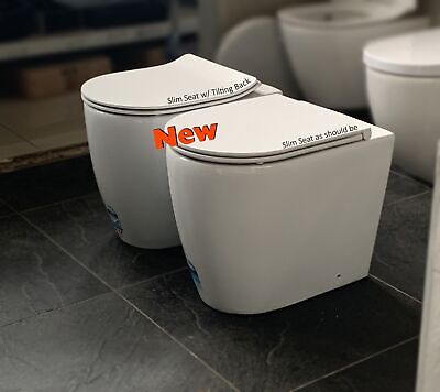 ALL NEW soft Close Concealed inwall recessed cistern in wall Toilet Suite