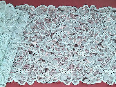 """/""""Laces Galore/"""" Beautiful Scarlet Red Stretch Wide Lace 24 cm Lingerie"""