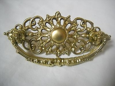 "Antique Cast Brass Victorian Drawer Pull 3 "" Centers"