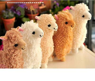 "9"" Funny Alpaca Alpacos Vicuna Lama Alpaga Alpakka Anime Plush Doll 5 Colors 1pc"