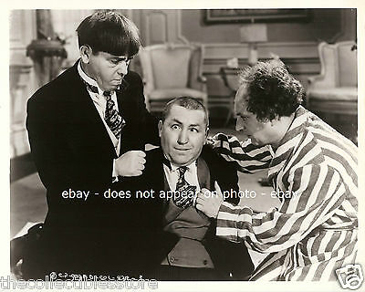 The Three Stooges Moe Curly Howard Larry Fine Vaudeville Show 8 X 10 Photo #01