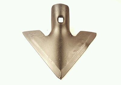 """FIELD CULTIVATOR PARTS, S-TINE SWEEP, 1/4"""" x 7"""" DANISH TYPE, SINGLE BOLT HOLE"""