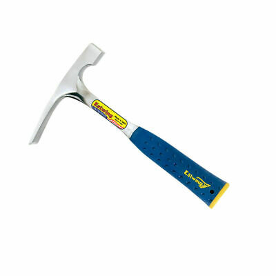 Estwing E3-16BLC 16oz Bricklayer or Mason's Hammer with Patented End Cap