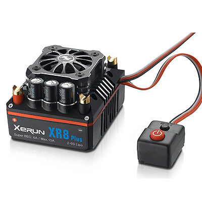 Hobbywing XERUN XR8 Plus ESC Speed Controller 150A for 1/8 Competition 30113300