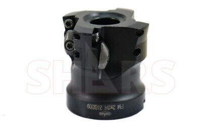 """2"""" High Feed Indexable Face Mill for 4 Cutting Edge SDMT Insert New $324.00 Off"""