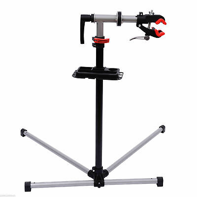 Bike Cycle Bicycle Repair Work Stand Maintenance Display Rack Tool Adjustable