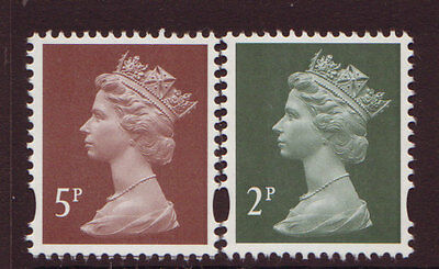 Great Britain 2014 2 Litho Definitive Stamps Unmounted Mint, Mnh