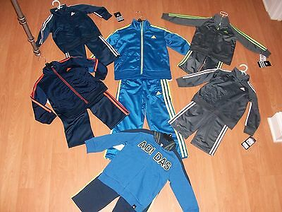 Adidas Infant/Toddler/Youth Boys' Warm Up Suit, Many Colors&Sizes, MSRP $42-$55