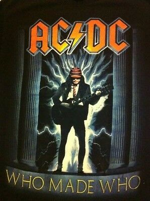 AC/DC WHO MADE WHO SHIRT Sm. New , Rare Mint Cond. True Vintage Awsome Shirt