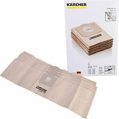Karcher WD3.230 WD3.250 WD3.300 Wet & Dry Vacuum Cleaner Dust Bags 5PK Genuine