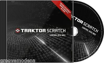 TRAKTOR SCRATCH CONTROL CD DISC MK2(COPPIA) timecode per DJ PRO2 DUO2 NUOVO NEW