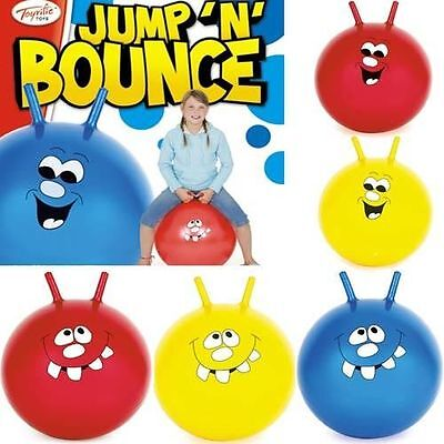 "20"" And 24""large Jump N Bounce Space Hopper Retro Ball Adult/kid New Outdoor Toy"