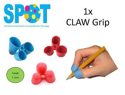 1x CLAW Pencil Grip (small) *HAND WRITING school OT special needs THERAPY *