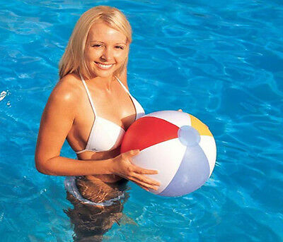 "16""20"" 24"" And 48"" Panel Inflatable Beach Ball Holidy Swimming Pool Party Design"
