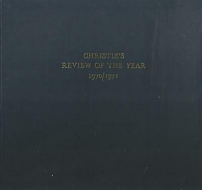Christie`s Review Of The Year 1970/1971 Hardback