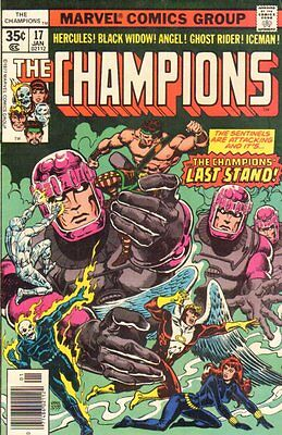 The Champions - #17 - The Champions Last Stand - VF Ghost Rider WH