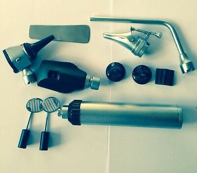 ENT Opthalmoscope,Ophthalmoscope,Otoscope Nasal Larynx Diagnostic Set In Box.