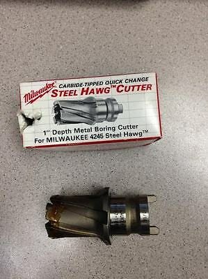 "Cutter Only Milwaukee 11//16/"" by 1/"" Depth Carbide Tooth  Hole Saw 49-57-0689"