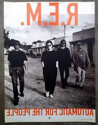 REM Automatic For the People 18x24 Window Cling R.E.M. Promo